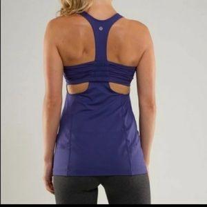 Lululemon tank cami top purple workout 12